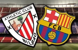 Barcelona vs Athletic Bilbao 2015 Supercopa de Espana.