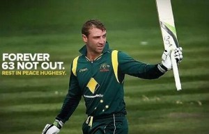 Cricket Australia trade marked 63 not out phrase in the memory of Phillip Hughes.