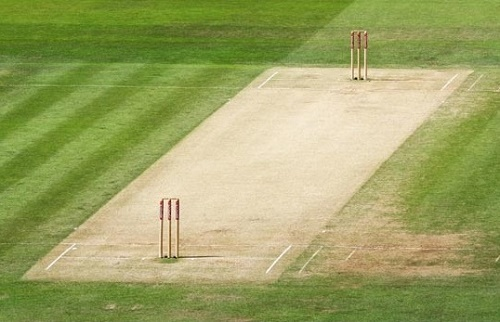Cricket pitch length never changed.