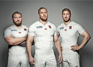 England Rugby World Cup 2015 Squad.
