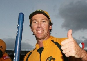 Glenn McGrath ended odi and test cricket career with final ball wicket.