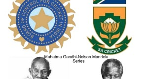 India-South Africa future series to be Gandhi-Mandela Series