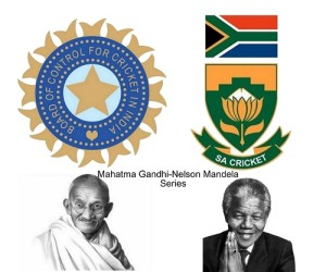 India-South Africa future series to be Gandhi-Mandela Series.