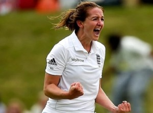 Kate Cross became first woman to play in men's Lancashire League.