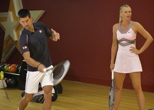 Novak Djokovic vs Maria Sharapova