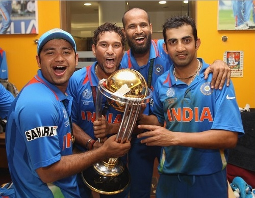 Piyush Chawla is the youngest cricketer to win cricket world cup.