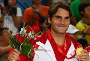 Roger Federer won Gold Medal in 2008 Beijing Olympic Games.