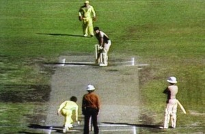 Trevor Chappell bowled first ever underarm ball in the history of cricket.