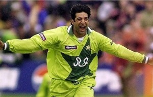 Wasim Akram Scored more than Sachin Tendulkar in an inning of test match.