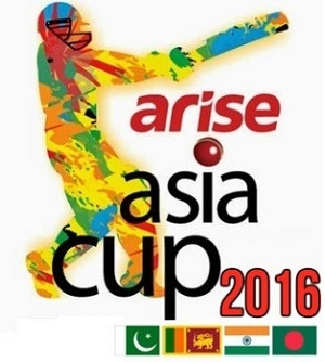 Asia Cup T20 2016 schedule and fixtures.