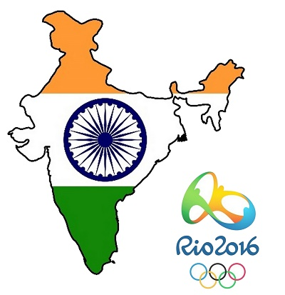 India in 2016 Summer Olympics at Rio.