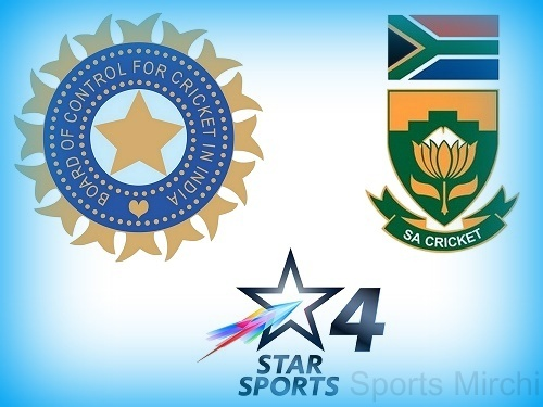 India vs South Africa 2015 series Live Streaming and broadcasters.
