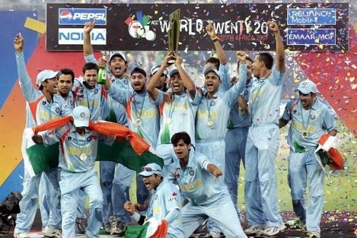 Indian Cricket Team at ICC World Twenty20.