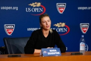 Maria Sharapova withdraw from US Open 2015 due to leg injury.