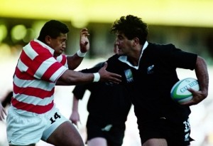 New Zealand scored 145 points against Japan in 1995 Rugby world cup.