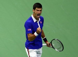 Novak Djokovic wins US Open 2015 title by defeating Federer.