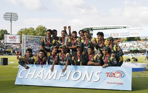 Pakistan Cricket Team at ICC World Twenty20.