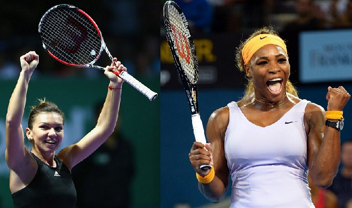 Serena Williams vs Simona Halep.