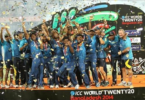Sri Lanka Cricket Team at ICC World T20.