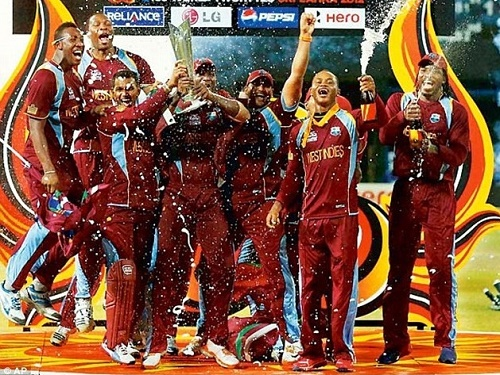West Indies cricket team at ICC World Twenty20.
