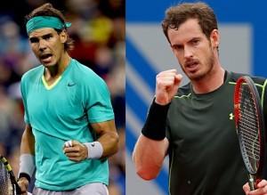 Andy Murray vs Rafael Nadal.
