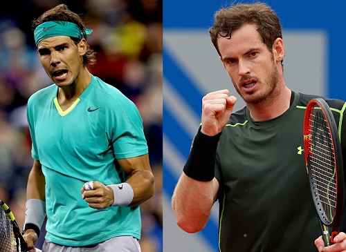 Andy Murray vs Rafael Nadal.