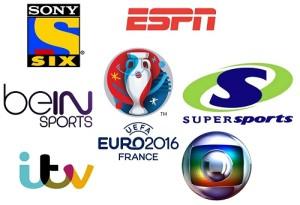 UEFA Euro 2016 Broadcasters, TV Channels List.