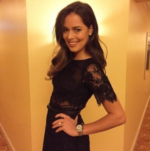Ana Ivanovic beautiful pose for Katy Perry Gig in UAE.