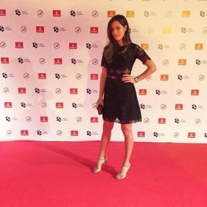 Ana Ivanovic in Katy Perry show Dubai.