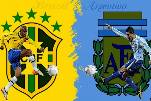 Argentina vs Brazil Live Stream, telecast online 12 November 2015.
