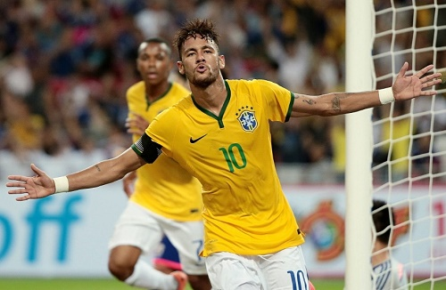 Neymar named in Brazil squad for world cup qualifiers.