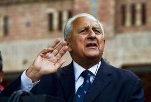 PCB Chief Shahryar Khan denies to play series India.