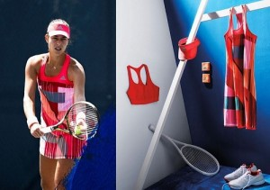 Ana Ivanovic outfit for Australian Open 2016.