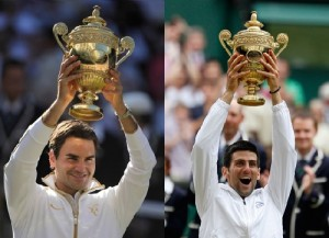 Federer or Djokovic Who'll be first $100 Million man in tennis.