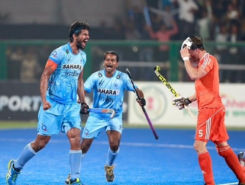 India won bronze medal at FIH hockey world league final 2015.