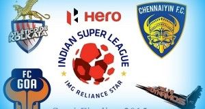 Indian Super League 2015 Semi-Final Line-ups, Schedule
