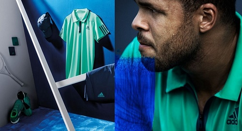 Jo-Wilfried Tsonga dress for Australian Open 2016.