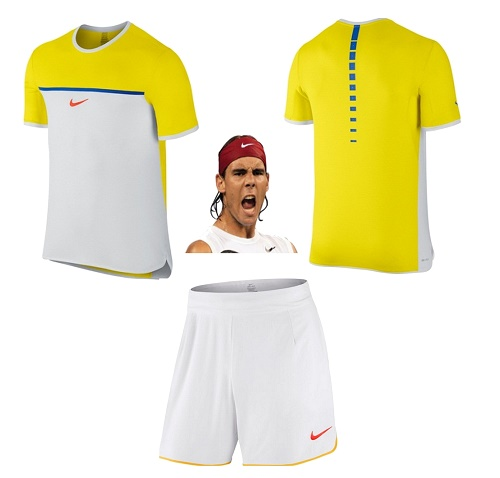 Rafael Nadal outfit for Australian Open 2016.