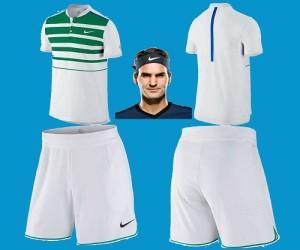 Roger Federer outfit for Australian Open 2016.