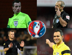 UEFA announced List of Referees for Euro 2016.