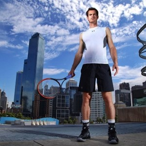 Andy Murray's Outfit for Australian Open 2016.