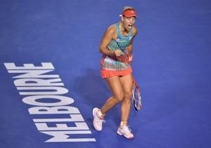 Angelique Kerber beat Serena to win Australian Open 2016.