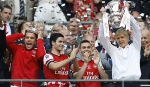 Arsenal won FA Cup 2014-2015.