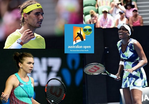 Australian Open 2016 Day-2 Results Big guns out from event.