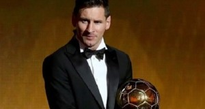 Lionel Messi wins FIFA Ballon d'Or 2015 award