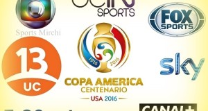 Copa America 2016 TV listings, Live Streaming, Broadcast