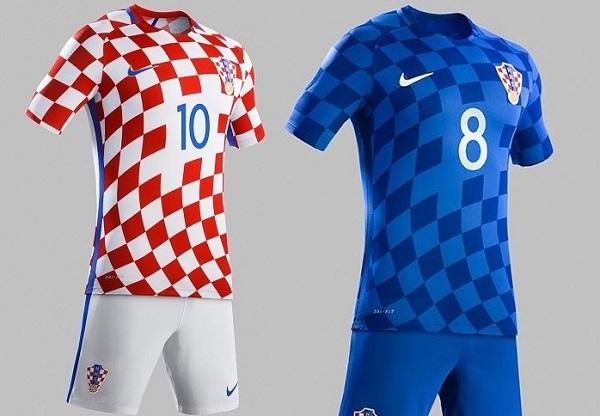 Croatia outfit for UEFA Euro Cup 2016.