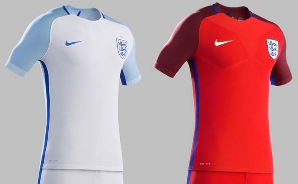 England outfit for 2016 Euro.