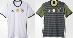 Germany dress for UEFA Euro 2016.