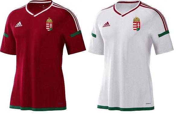 Hungary kit for 2016 European Championship.
